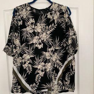 Top Shop Floral Print Shirt